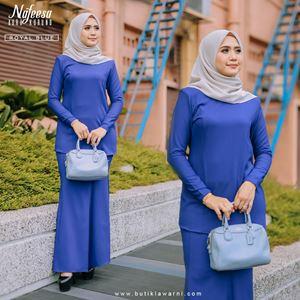 AURA KURUNG ROYAL BLUE
