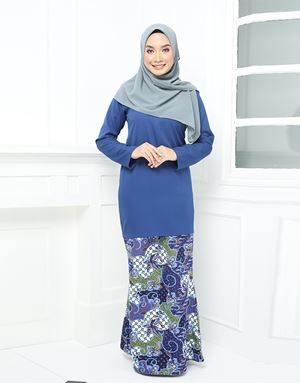 ARIANI BATIK - ROYAL BLUE