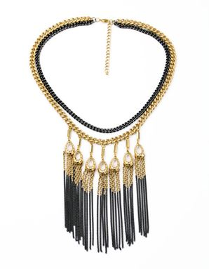 STELLADOT LILLITH FRINGE NECKLACE INSPIRED