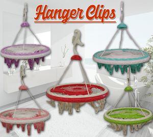 24Clip Clothes Hanger