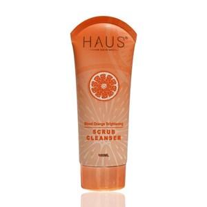 HAUS COSMETICS Blood Orange Brightening Scrub Cleanser