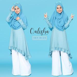 BLOUSE QALISHA - SKY BLUE