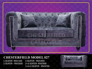 (HQ) CHESTERFIELD MODEL 027