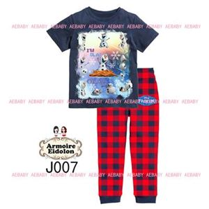 A&E Pyjamas - Frozen Olaf - Blue Black (8-12y)