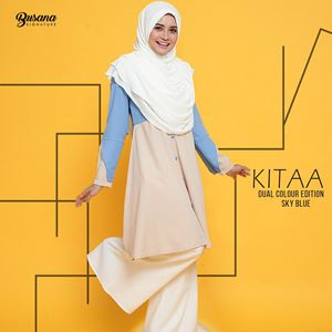 BLOUSE KITAA - SKY BLUE