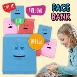 FACE COIN BANK