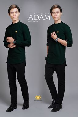 KURTA ADAM (DARK GREEN)