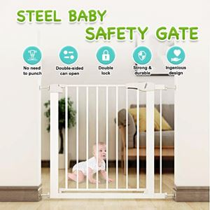 STEEL BABY SAFETY GATE