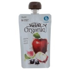 Heinz Organic Apple Berry Blush Pureed From 6 Months 120g