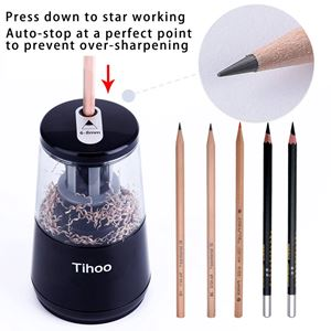 Electric Pencil Sharpener ( BLACK / WHITE )
