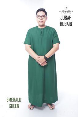 Jubah Hubaib - Emereld Green