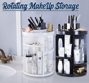 360° Rotating MakeUp Storage