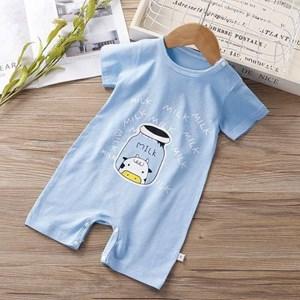 ★★  PRE ORDER  ★★  BABY ROMPER   - BLUE MILK  ( SIZE 59-66-73-80-90 )