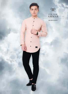 Kurta Ammar For Him (Light Nude)