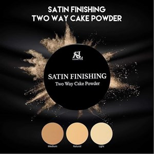 SATIN FINISHING TWO CAKE POWDER