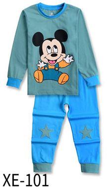 XE-101 'BABY MICKEY' Pyjama (2 - 7 tahun)