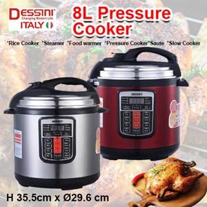 8L Dessini pressure cooker