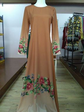 Jubah Citra Brown