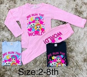 Set LOL We Run The World - 1-8yr