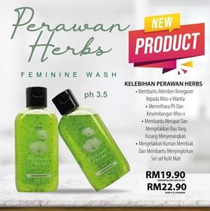 PERAWAN HERB'S FEMININE WASH