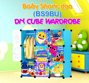 Baby Shark Doo BLUE 9C DIY WARDROBE (BS9BU)