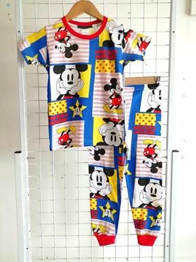 Pyjamas MICKEY ALL STARS : BABY size 6M  (HELAL)