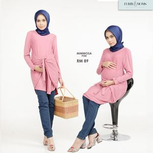 Mimmosa Blouse - Pink