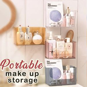 PORTABLE MAKE UP STORAGE