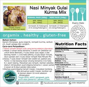Nasi Minyak (with Gulai Kurma) Mix