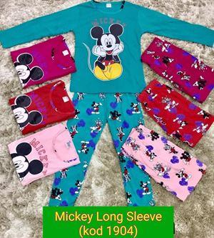 Pyjamas Mickey - Long Sleeve,  Kod 1904 (Big Size) 9y-14y