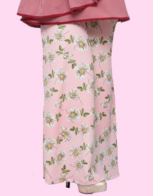 Adelia Skirt Printed : Pink Floral