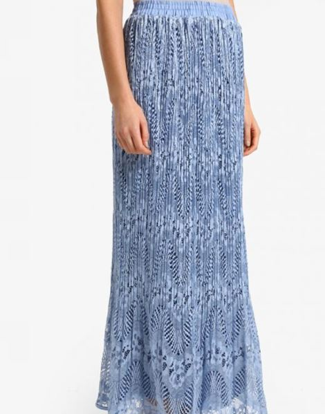 IRMA LACE SKIRTS IN BABY BLUE