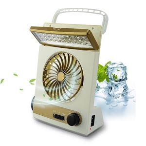 2in1 Solar USB Fan