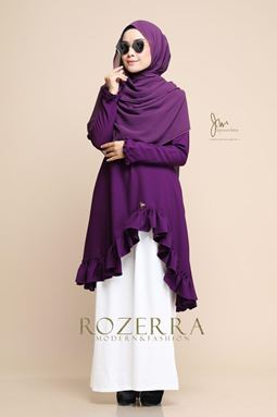 BLOUSE ROZERRA - PURPERRY
