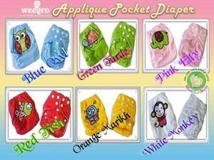 Weegro Applique Pocket