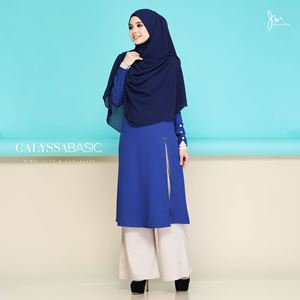 CALYSSA BASIC CASUALITY (ROYAL BLUE)