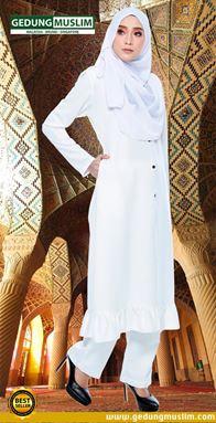 JUBAH AZ ZAHRAA - WHITE