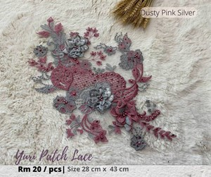 Yuri Patch lace