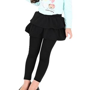 BLACK MARRA SKIRT LEGGING