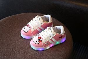 LED HELLO KITTY PINK COLOUR