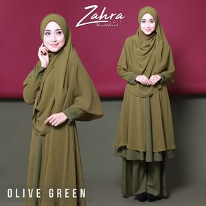 zahra suit (olive green)