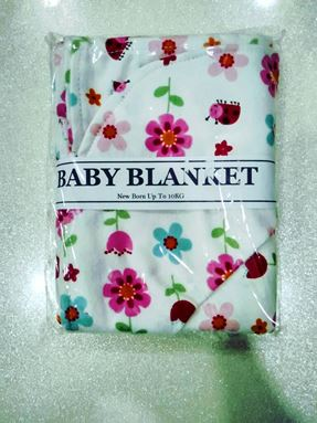 Baby Blanket please mention your printed choice/plain