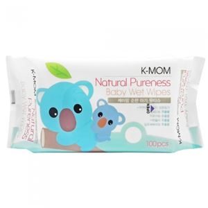 NATURAL PURENESS BABY WET WIPES K - MOM