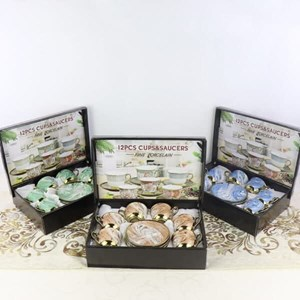 12 Pcs Gift Set Ceramic Cup