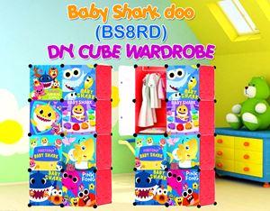 Baby Shark Doo RED 8C DIY WARDROBE (BS8RD)