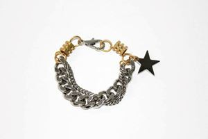 M.E. BOLD STAR CHAIN BRACELET INSPIRED