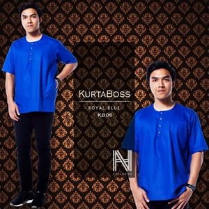 Kurtaboss by HANA (Royal Blue)