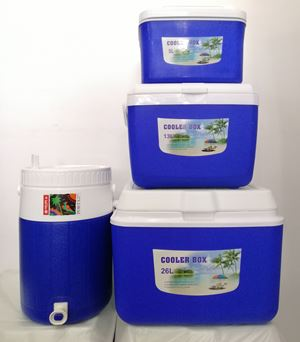 SET COOLER PORTA 4PCS - BLUE
