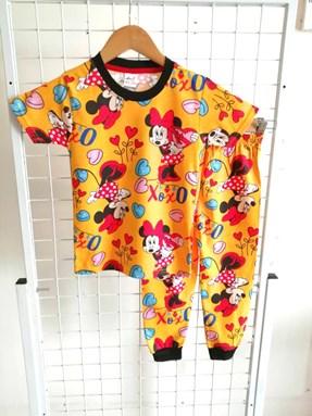 Pyjamas MINNIE XOXO YELLOW : KIDS size 2 - 10