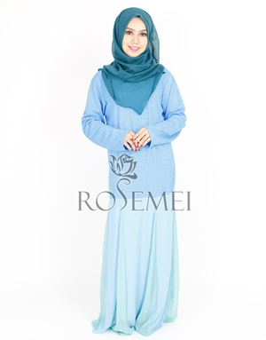 JANNAH DRESS - LIGHT BLUE